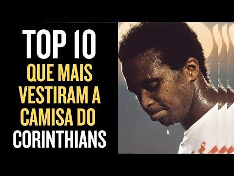 10 jogadores que mais atuaram no Corinthians