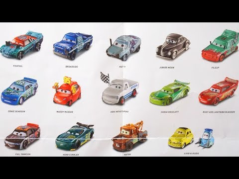 2017 Disney Cars 3 Diecast Collection River Scott Hit Run Super Chase Crazy 8