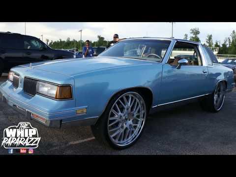 "G Body Oldsmobile Cutlass on 26"" Forgiato Wheels"