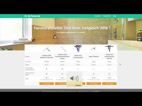Fensterabzieher Test 2016 / 2017
