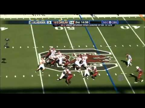 2010 Alabama v South Carolina Highlights