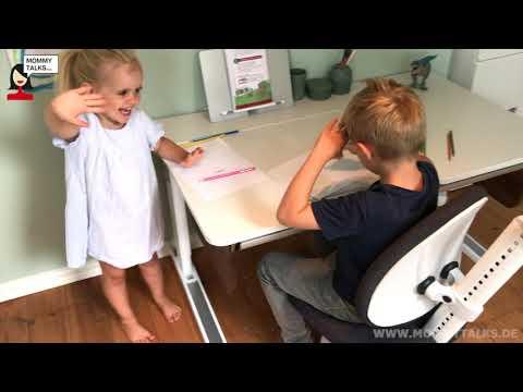 Bewertung Video über den Schreibtisch Champion und Drehstuhl Maximo von moll