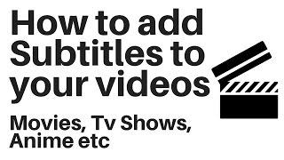 How to merge subtitles with movie permanently most popular videos how to add subtitles to a video permanently ccuart Image collections