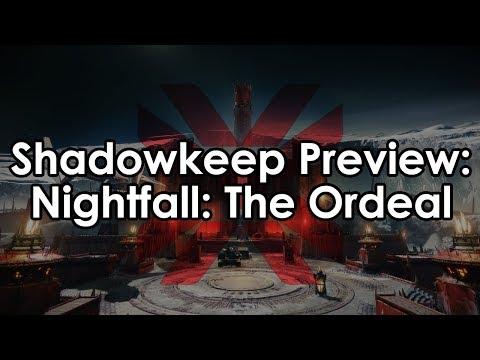 Destiny 2 Shadowkeep: Nightfall The Ordeal - 950 Power ft. Eriana's Vow
