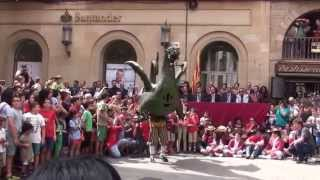 preview picture of video 'Ball del Drac - Festa Major Solsona 2014'
