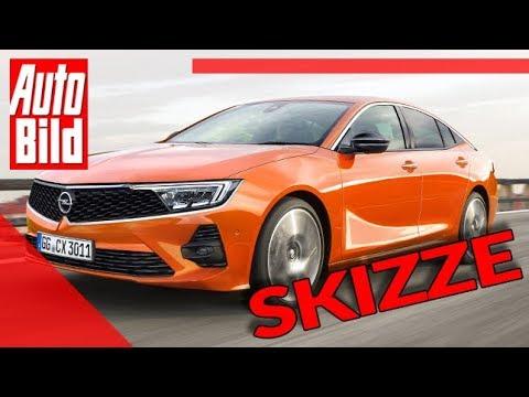 Opel Insignia (2022): Neuvorstellung - PSA-Plattform - Skizze