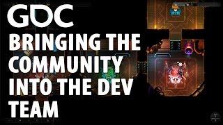 Bringing the Community into the Dev Team