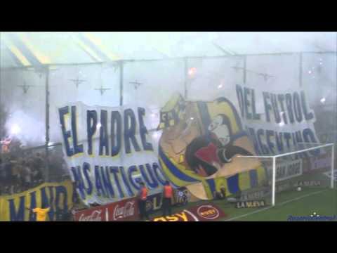 """""""""""Fiestón"""" - Rosario Central (Los Guerreros) vs River - 2016"""" Barra: Los Guerreros • Club: Rosario Central"""