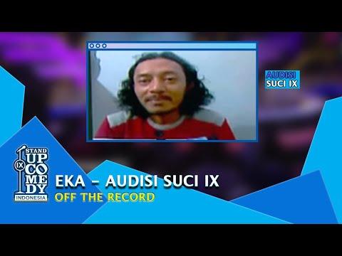 Stand Up Eka soal Preman, Pandji Pragiwaksono: Gua Tahu Lu Aneh - AUDISI SUCI IX