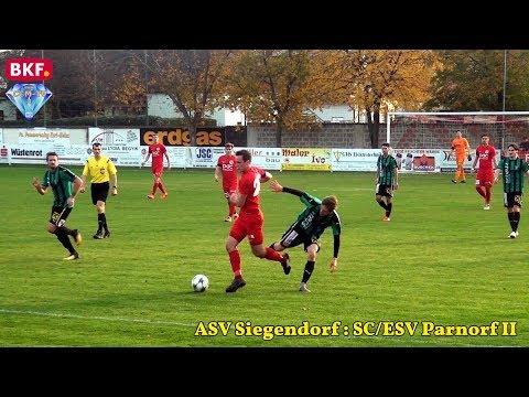 ASV Siegendorf - SC/ESV Parndorf Amateure 2:0