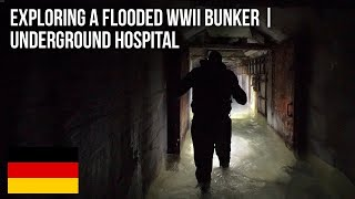 URBEX | Exploring a flooded air raid shelter/unfinished hospital