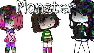 Monster || B.A.T.I.M. , Undertale, Glitchtale || Gacha Life Music Video ||