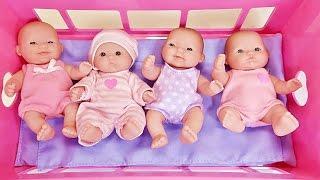 Куклы Пупсики Играют В Игрушки Открывают Сюрпризы Дочки Матери Детский Сад Влог Новый год Зырики НГ
