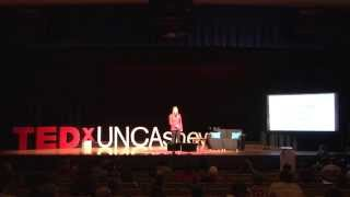 Upcycling and business of the future: Bethany Adams at TEDxUNCAsheville