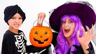 Vlad And Nikita Plays Halloween Trick Or Treat