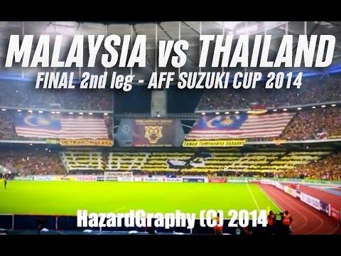 Ultras Malaya tifo | Malaysia VS Thailand - Final - AFF Suzuki Cup 2014