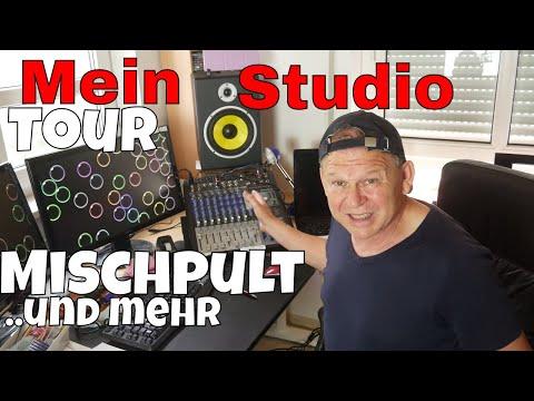 STUDIO TOUR-MISCHPULT/PRESONUS-Euqipment-Studio-Monitore etc..-Saxman Stefan Lamml