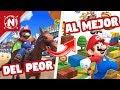 Del Peor Al Mejor: Juegos De Mario En 3ds