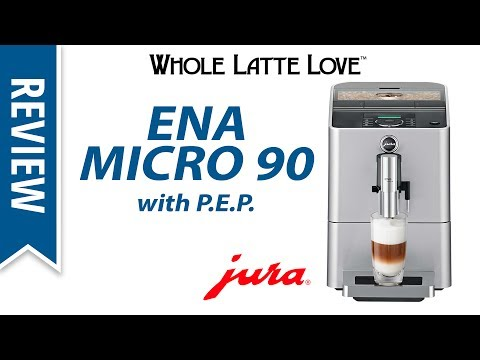 Review: Jura ENA Micro 90 Bean to Cup Coffee Machine