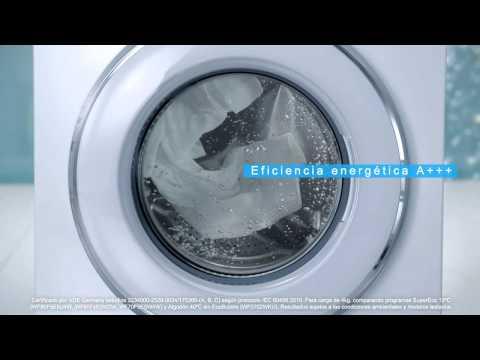 Nuevas lavadoras Samsung EcoBubble: resultados excelentes en agua fría