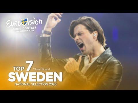 🇸🇪: Eurovision 2020 - Melodifestivalen 2020 - Semi-Final 4 - Top 7