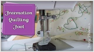 How to Use a Quilting Foot:: by Babs at Fiery Phoenix