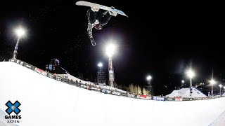 GOLD MEDAL VIDEO: Womens Snowboard SuperPipe   X Games Aspen 2020