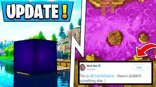 *NEW* Fortnite Cube Lake! | Solved, Epic Responds, Season 6 End!