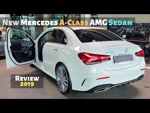 New Mercedes A-Class AMG Sedan 2019 Review Interior Exterior