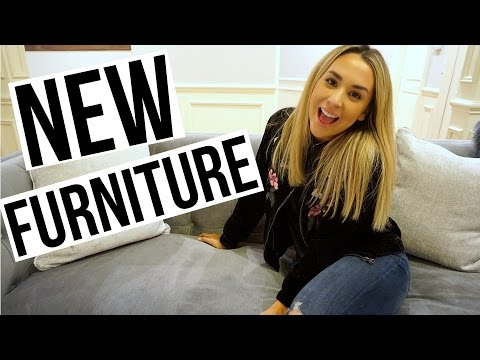 OUR NEW FURNITURE! | ALEX & MICHAEL