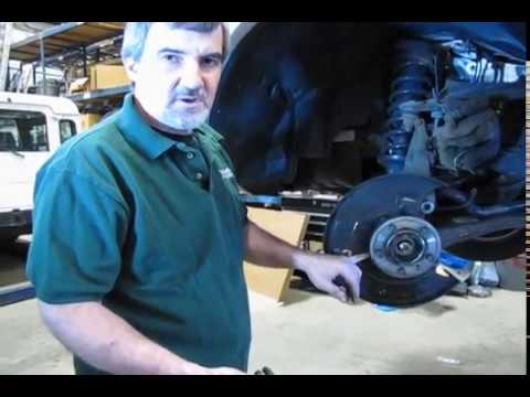 Atlantic British Presents: Hub Bearing Assembly Replacement for Land Rover LR3 2005-2009