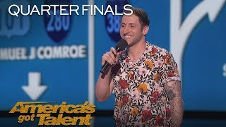 Samuel J. Comroe: Comedian Tells Hilarious Puppy Adoption Story - America's Got Talent 2018