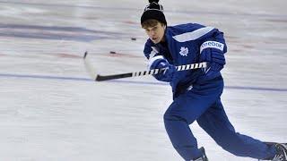 Celebrities Playing Hockey