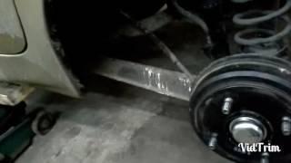 DAEWOO MATIZ  установка заднего бампера и парктроников и еще пару идей