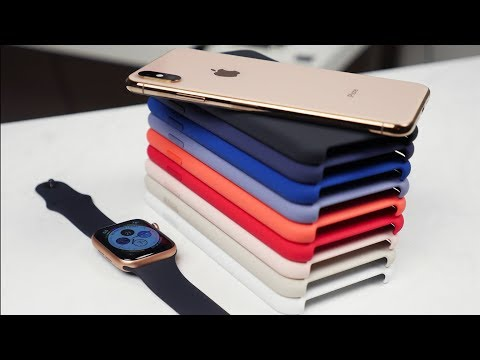 Apple iPhone XS & XS Max Silicone Case Review - All Colors!