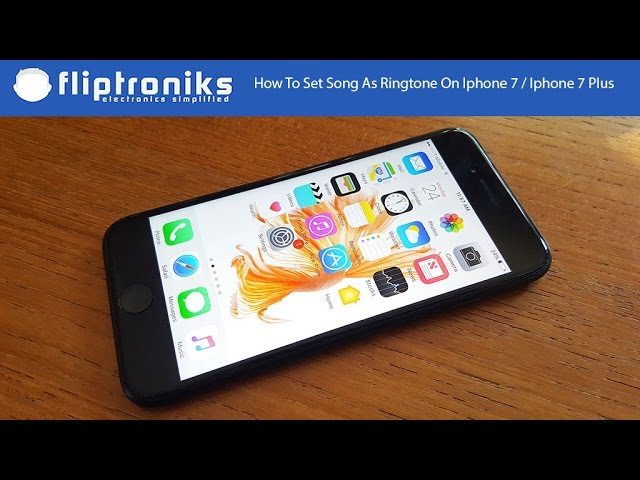 how to make songs ringtones on iphone how to set song as ringtone on iphone 7 iphone 7 plus 3361