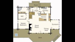 Log Home Plans | Log Home Floor Plans | Log Cabin Home Plans