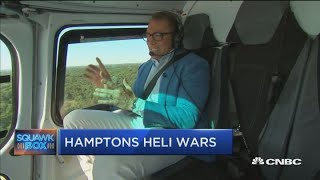 Hopping to the Hamptons by helicopter