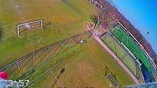 Foxeer micro Predator 4 - Sunny day FPV test flight (Uneditted DVR) - 2020-03-26