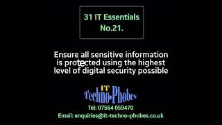 IT Techno-Phobes Limited Tip 21 – IT Support Services In Dudley