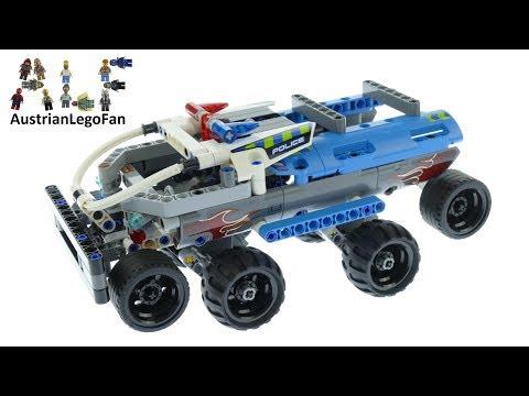 Vidéo LEGO Technic 42091 : La voiture de police