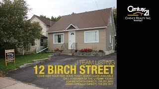 preview picture of video 'Home Tour : SOLD 12 BIRCH ST, SAULT STE. MARIE, ONTARIO'