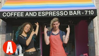Inside L.A.'s Queer-Friendly Coffee Shop