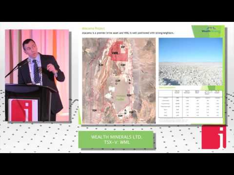 "CEO of Wealth Minerals presents ""Lithium for Growth"" at  ... Thumbnail"