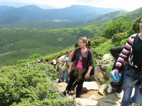Сходження на Говерлу (найвищу гору Украї