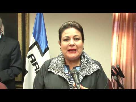 Diputada Margarita Escobar sobre mesa económica