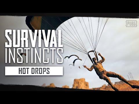 PUBG - Survival Instincts - Hot Drops