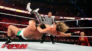 Dolph Ziggler vs. Rusev: Raw, Aug. 31, 2015
