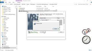 04 Install Microstation V8i SS3 (ves 2012)