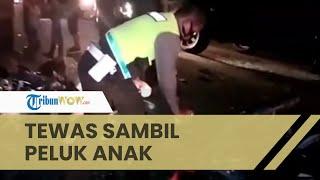 Kecelakaan Maut 2 Sepeda Motor di Kisaran, Ibu Tewas sambil Peluk Anak